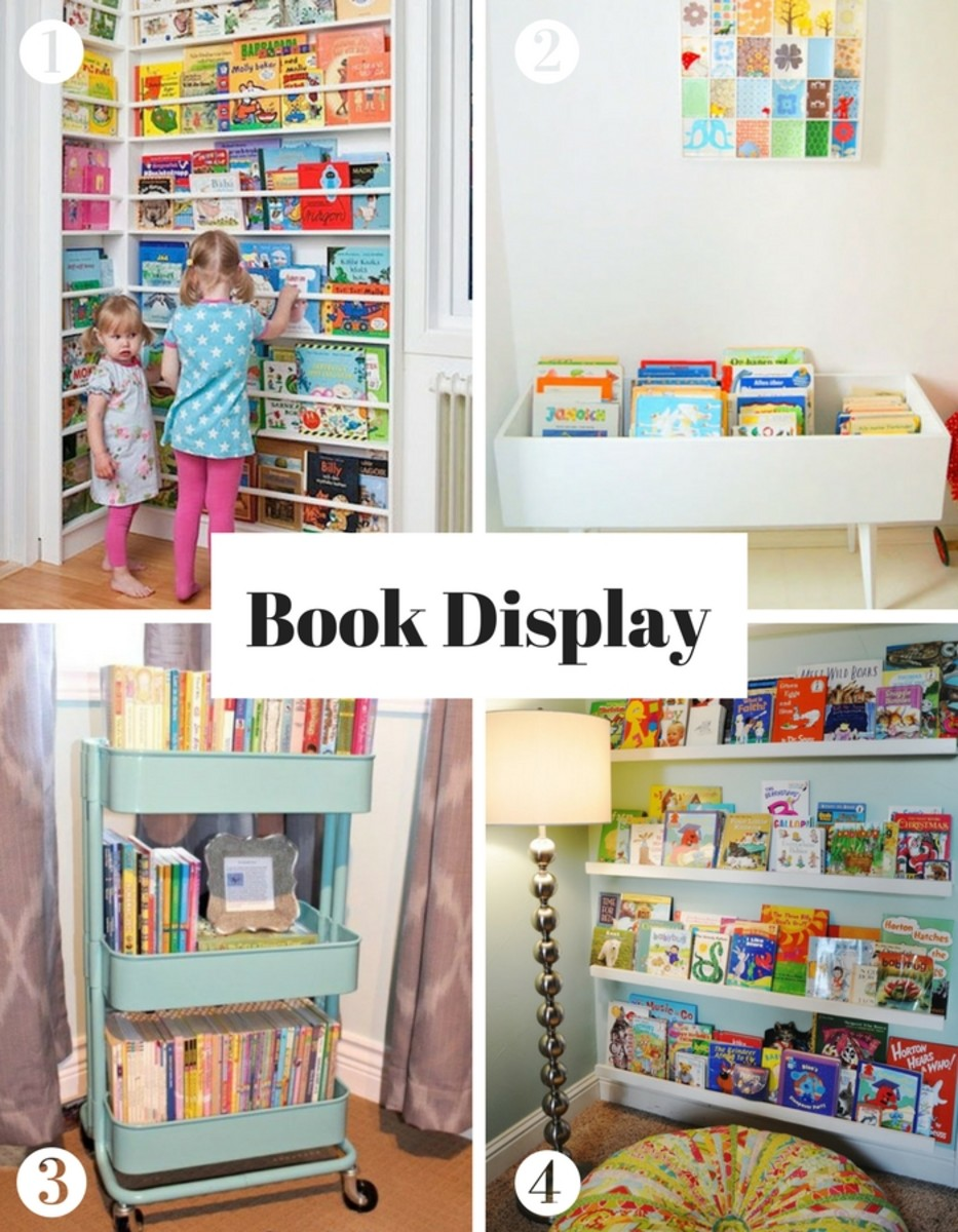 Create a reading nook - book display