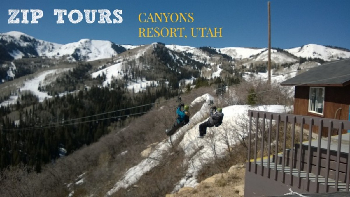 ZIP TOURS CANYONS RESORT UTAH