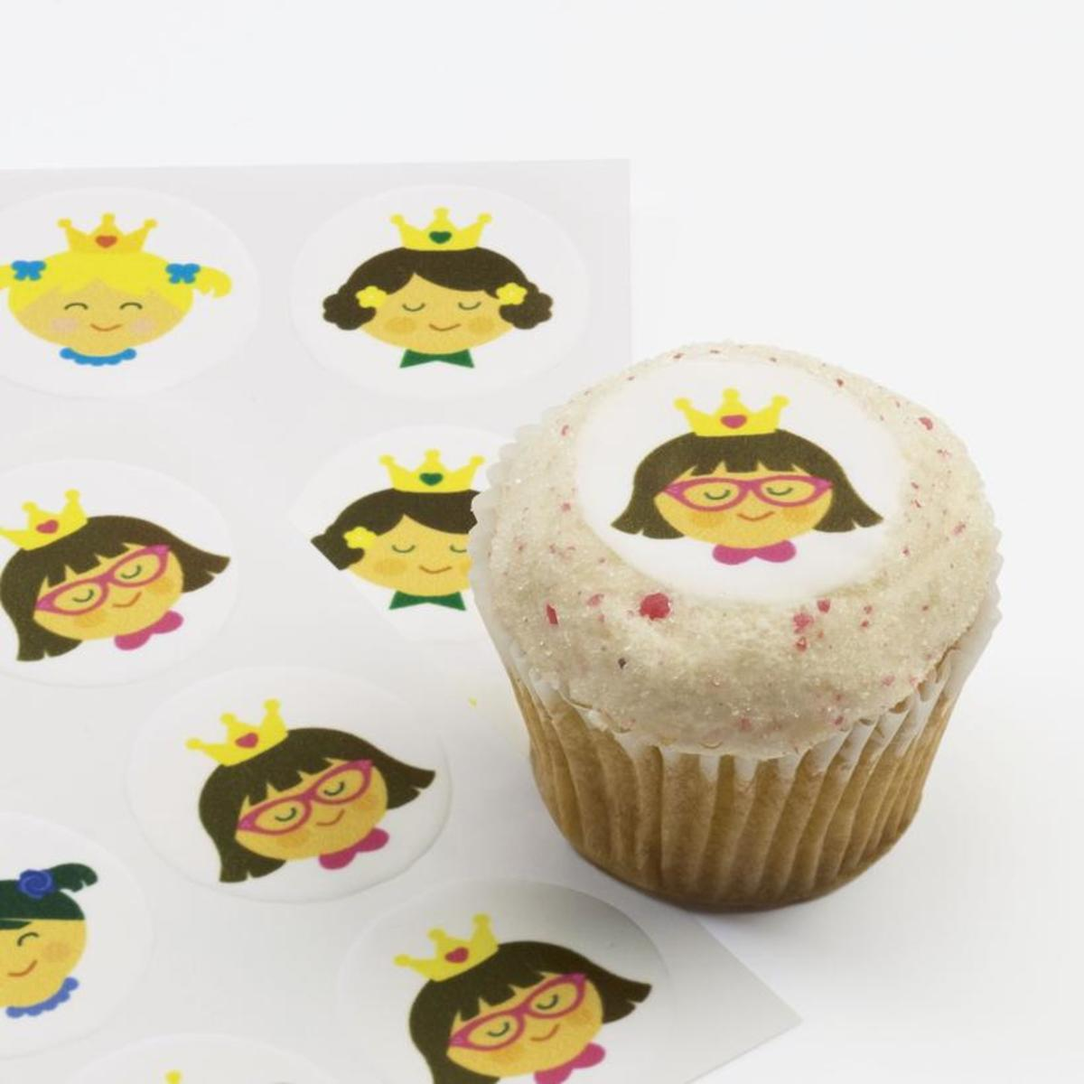 Hello Hanna Ticings Cupcake Toppers