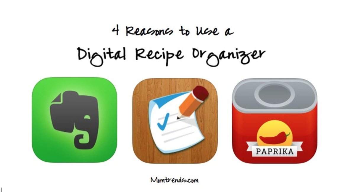 Digital Recipe Header