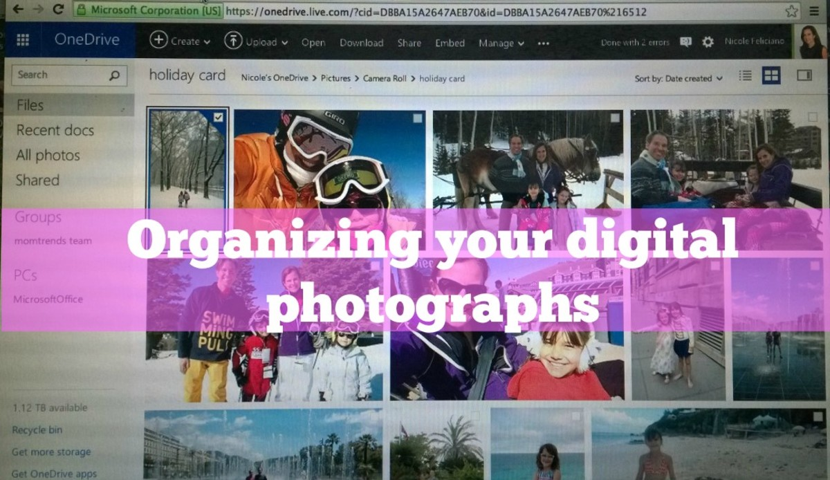 organizing your digital images
