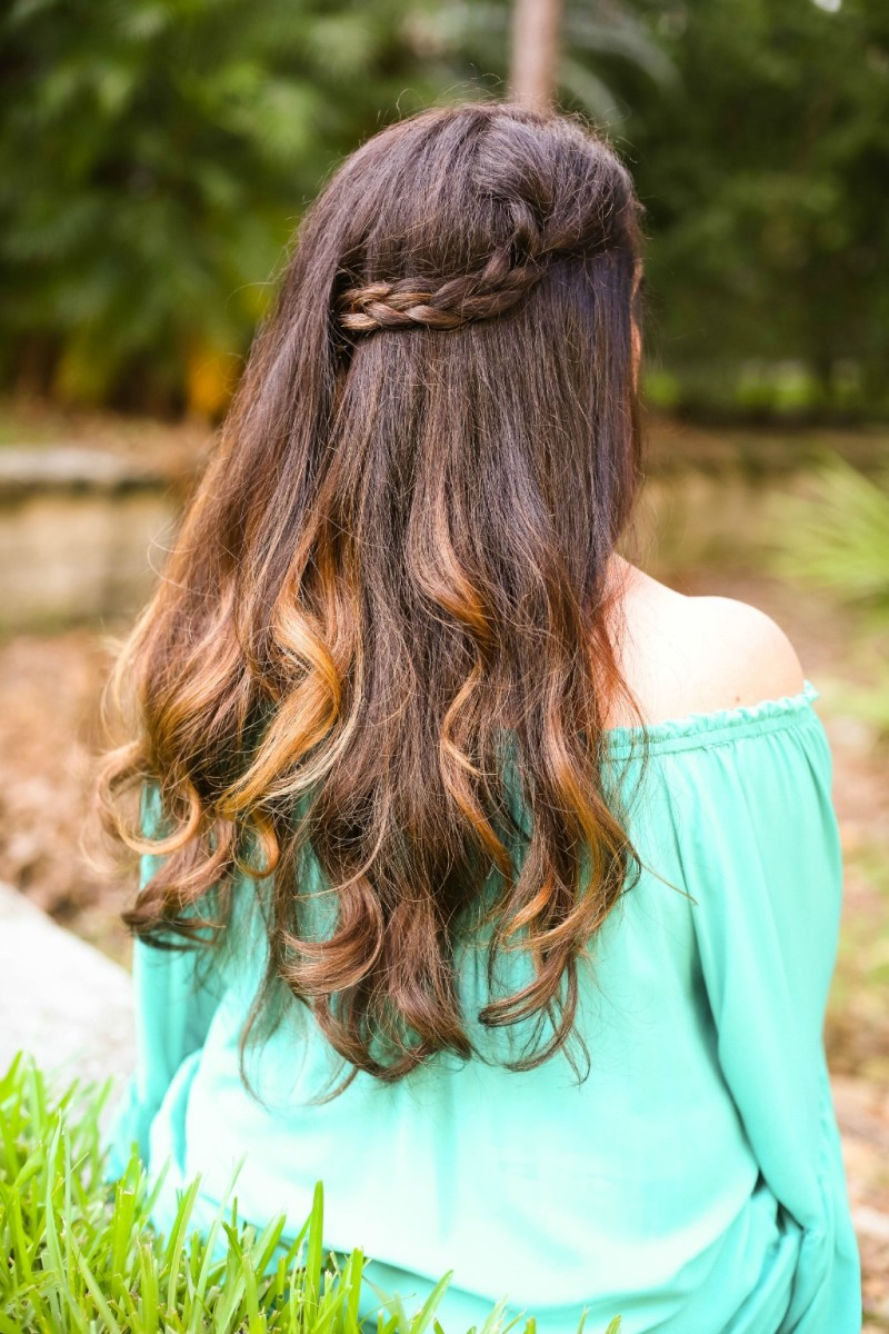 summer braid style
