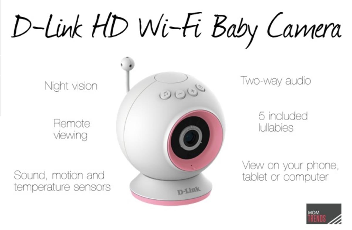 D-Link HD Wi-Fi Baby Camera Monitor