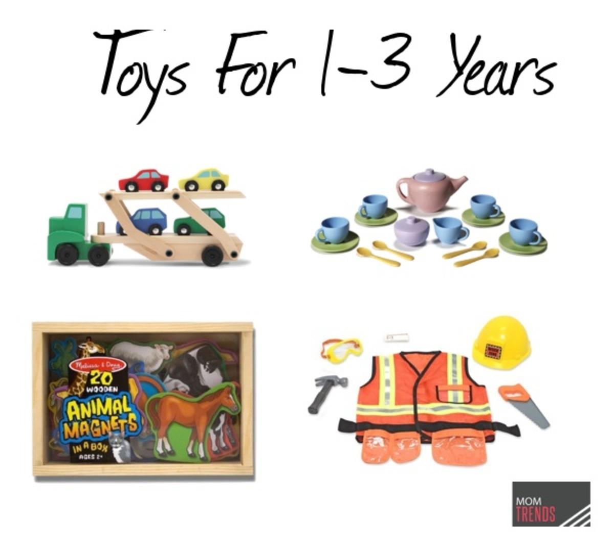 Toys for 1-3yo