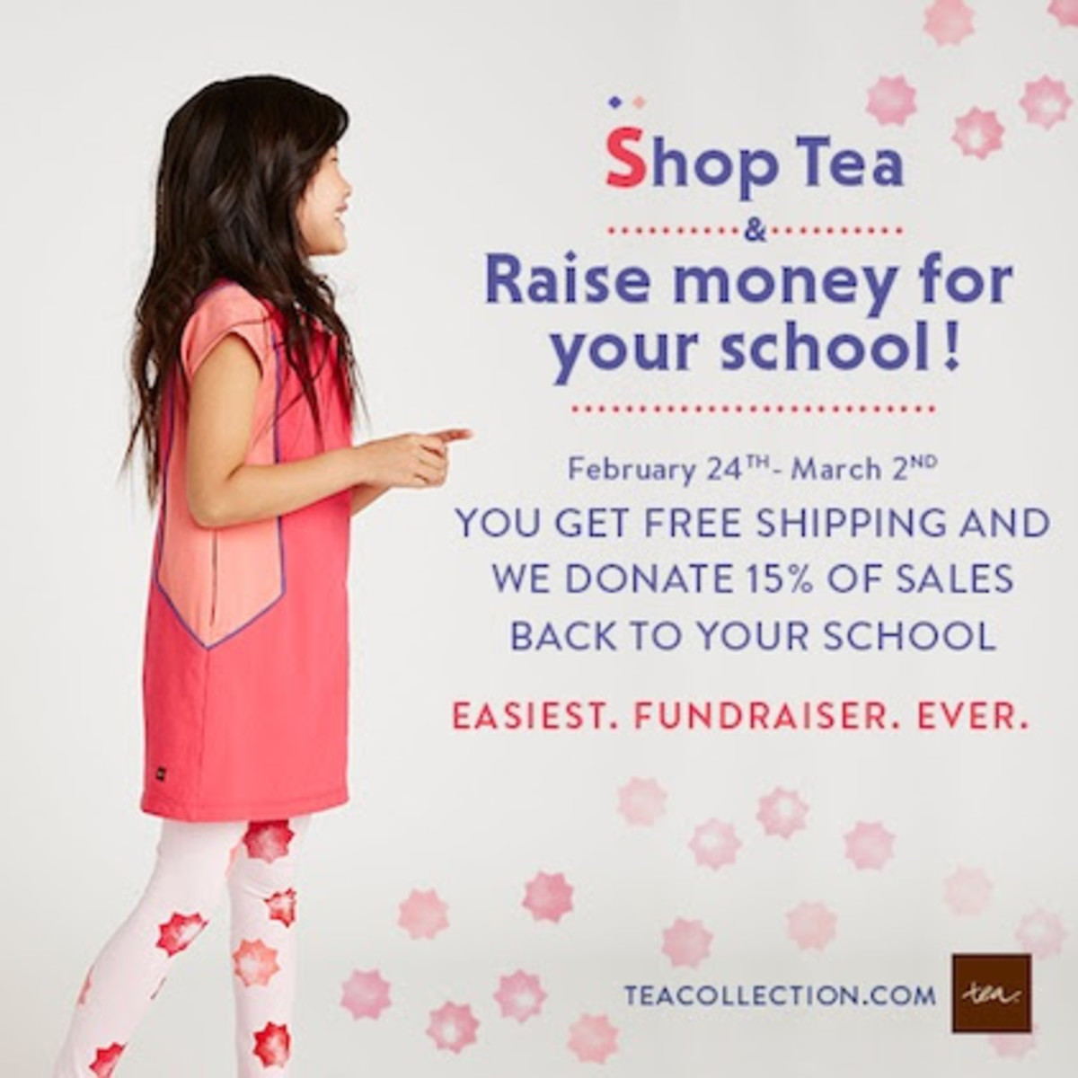 tea collection shop for your school