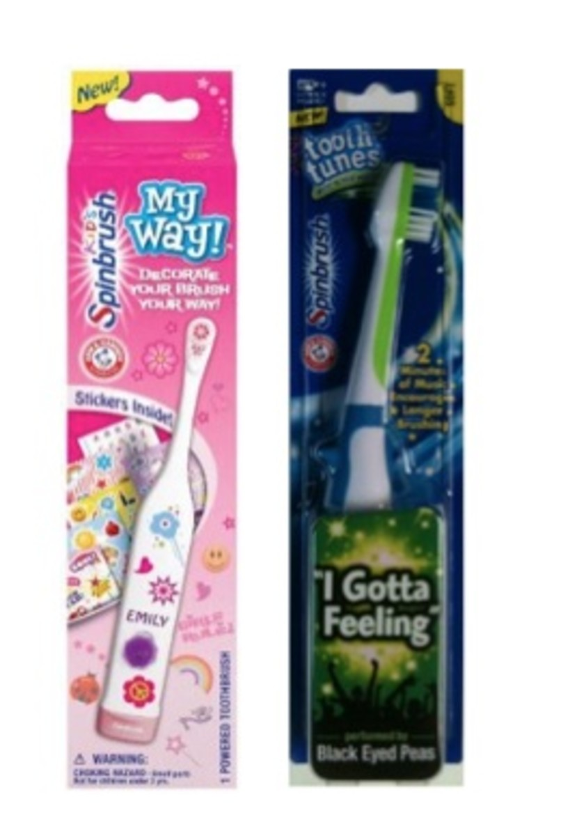 kid toothbrushes