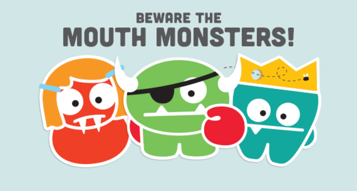 Rosie Pope for Monster-Free Mouths Movement