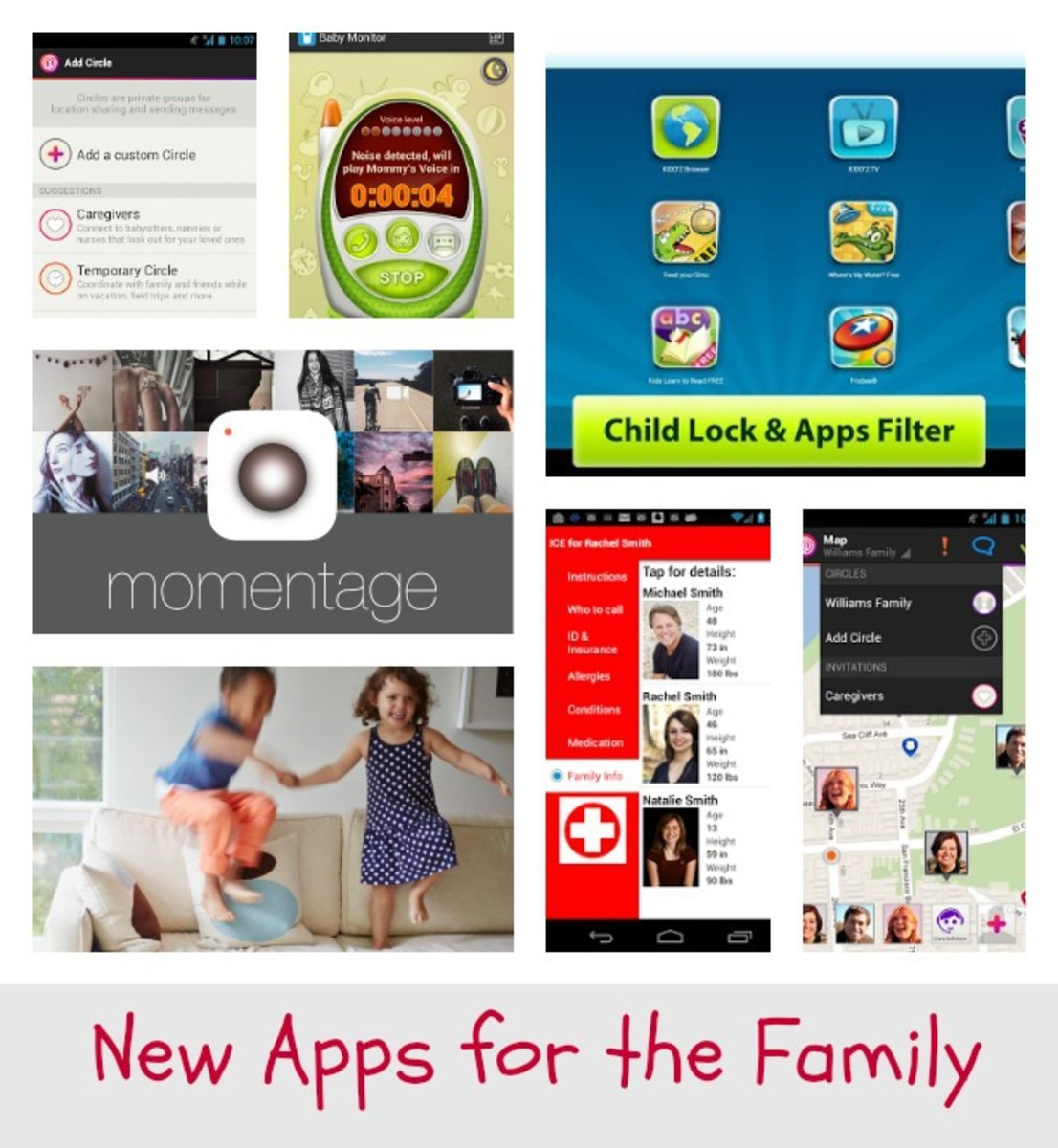 New Apps for the Family