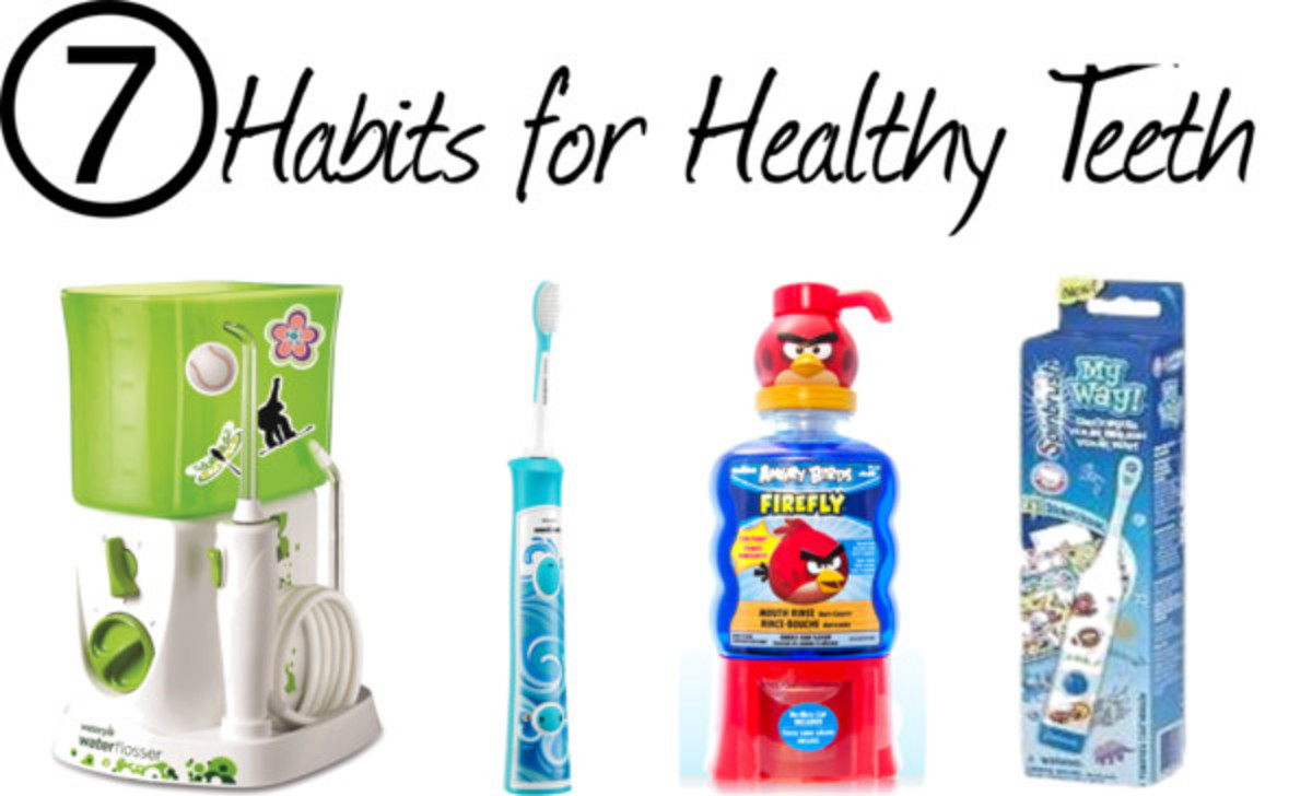 Habits for Healthy Kid Teeth