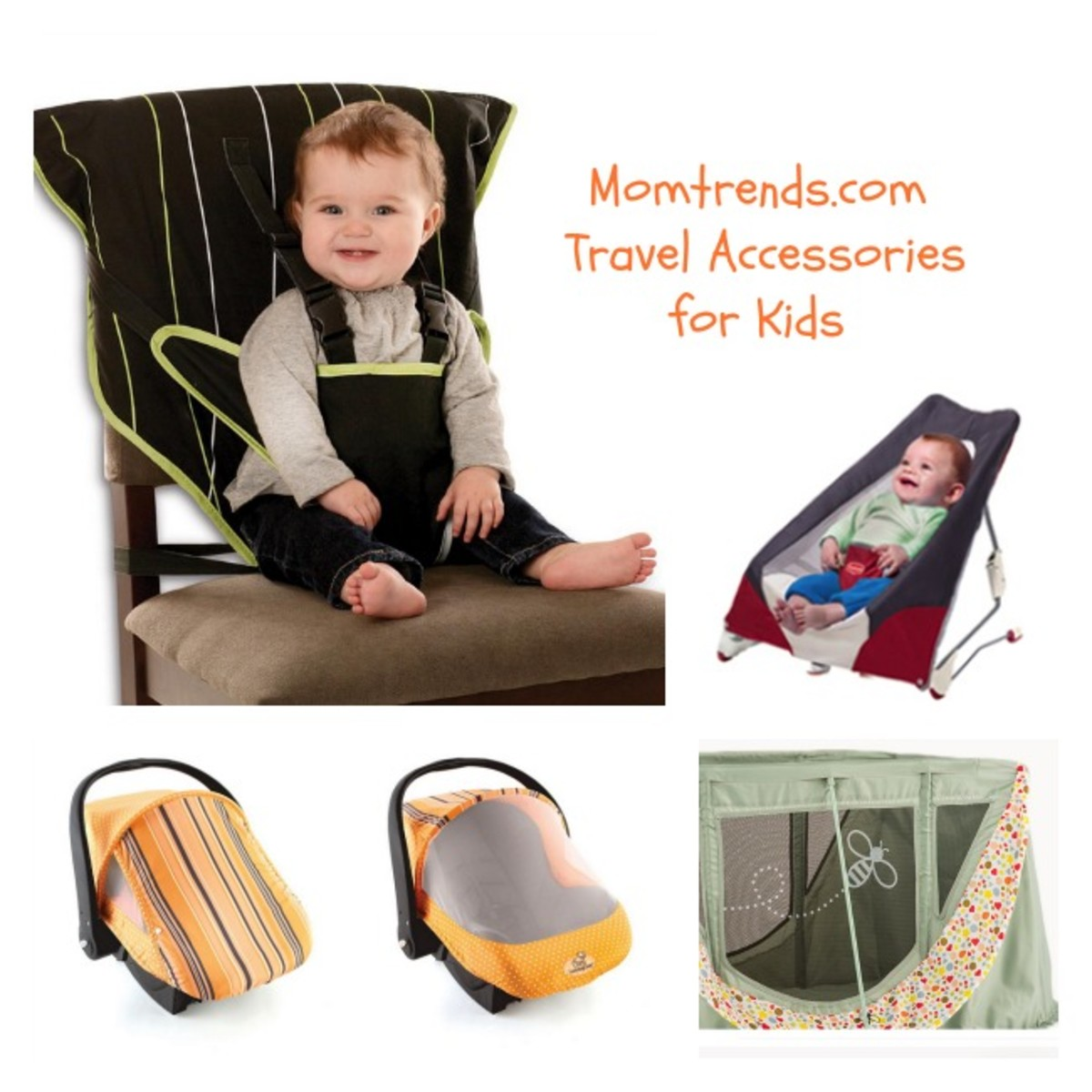 cozy cover, portable high chair, tiny love take along bouncer