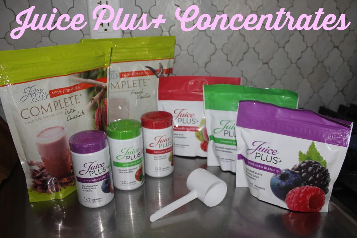 Juice Plus+ Concentrates