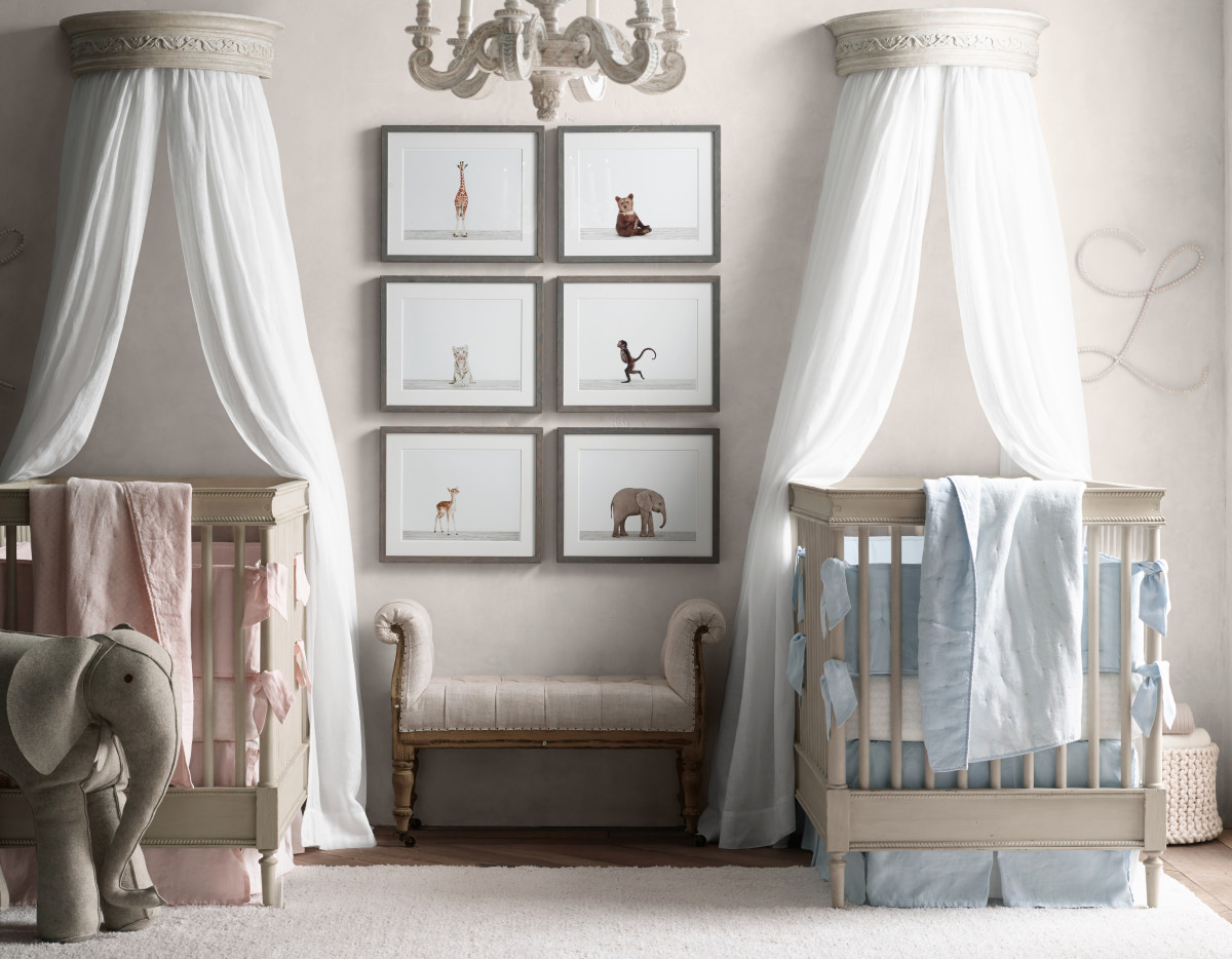 new spring collection from restoration hardware baby. Black Bedroom Furniture Sets. Home Design Ideas