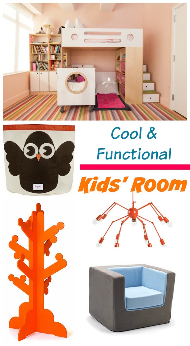 Cool Functional Kids Room