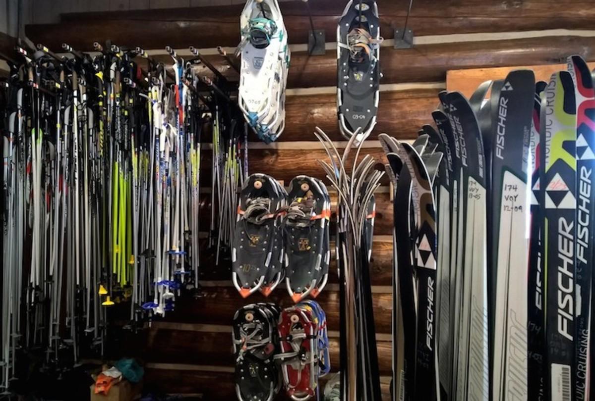 Xcountry ski shop