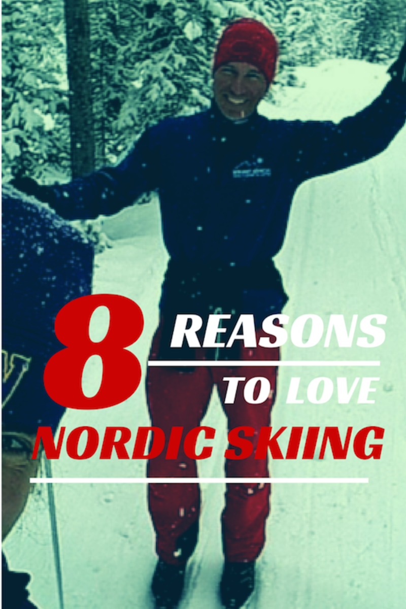 eight reasons to love nordic skiing
