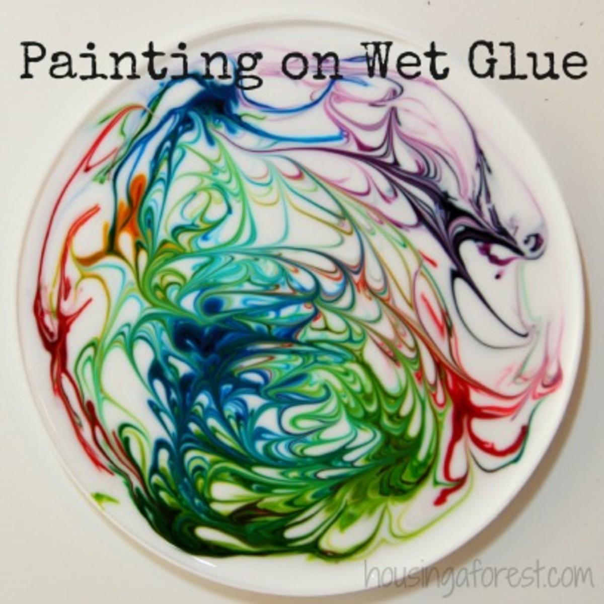 Painting-On-Wet-Glue-sun-catcher