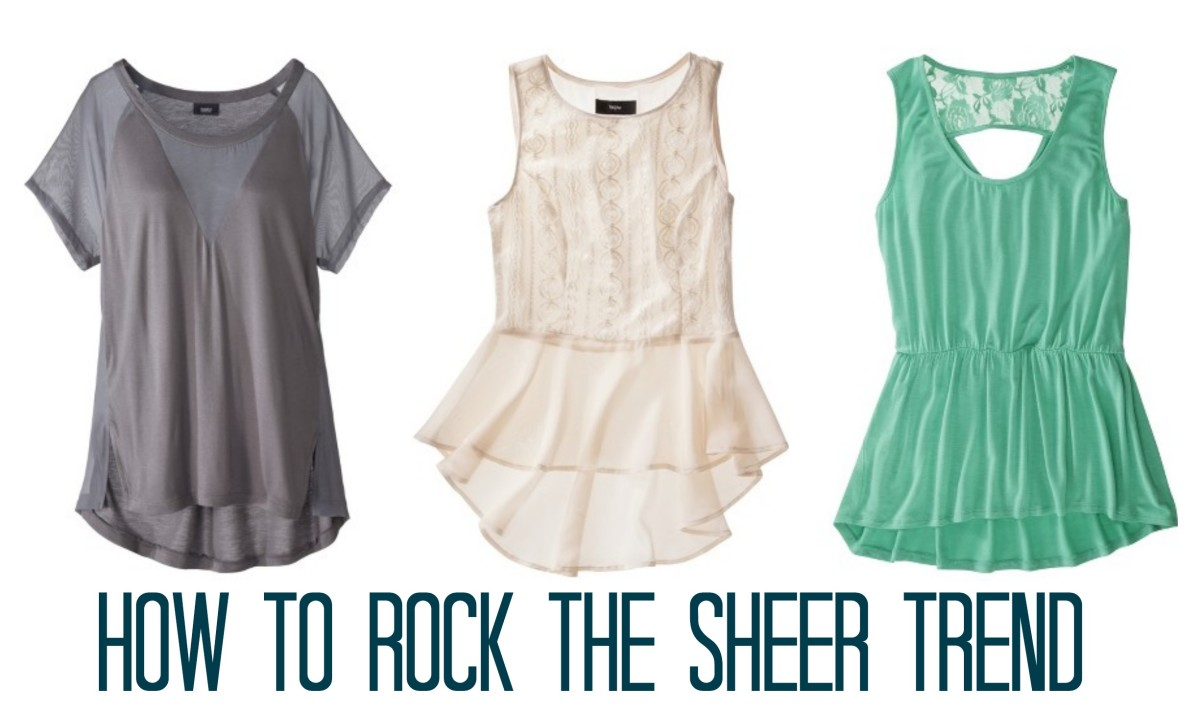 three essential sheer tops from target