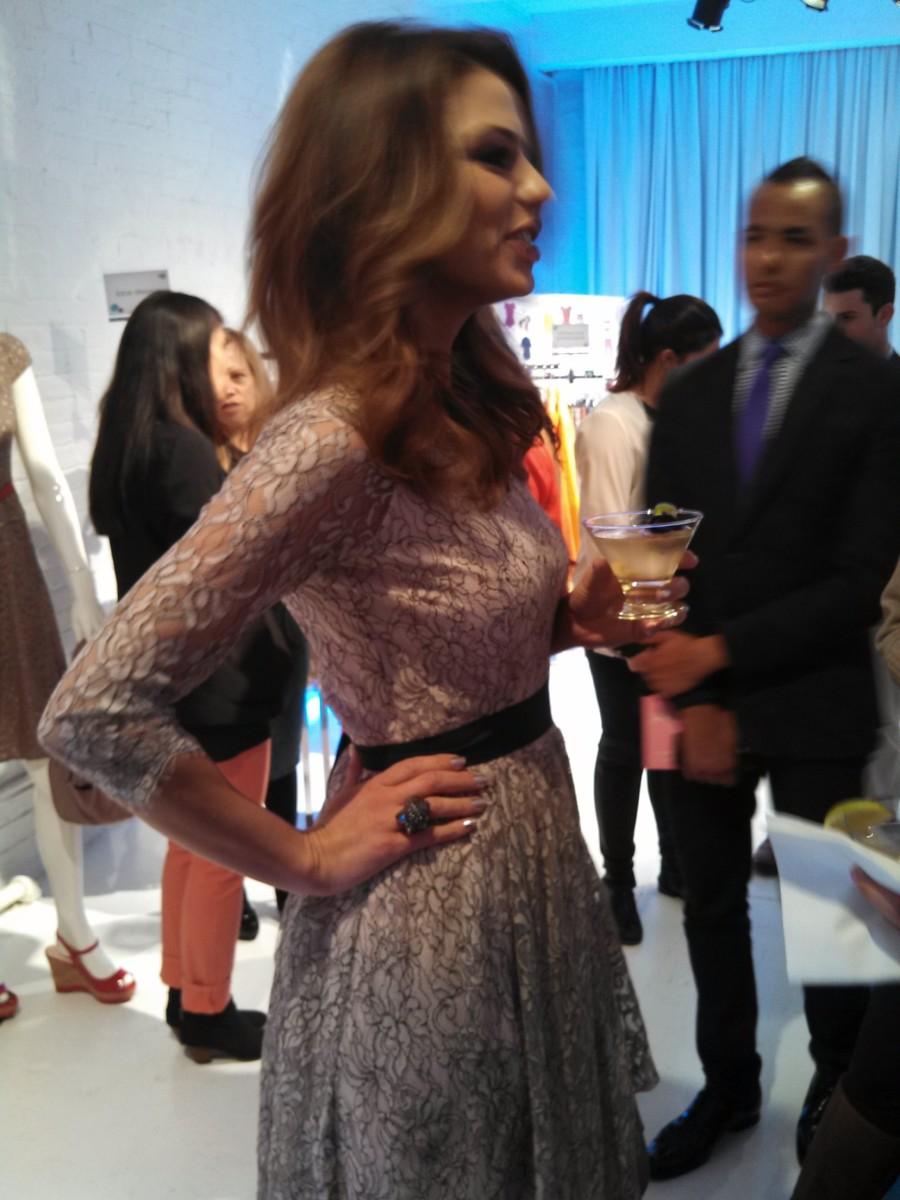 maria's stylish dress