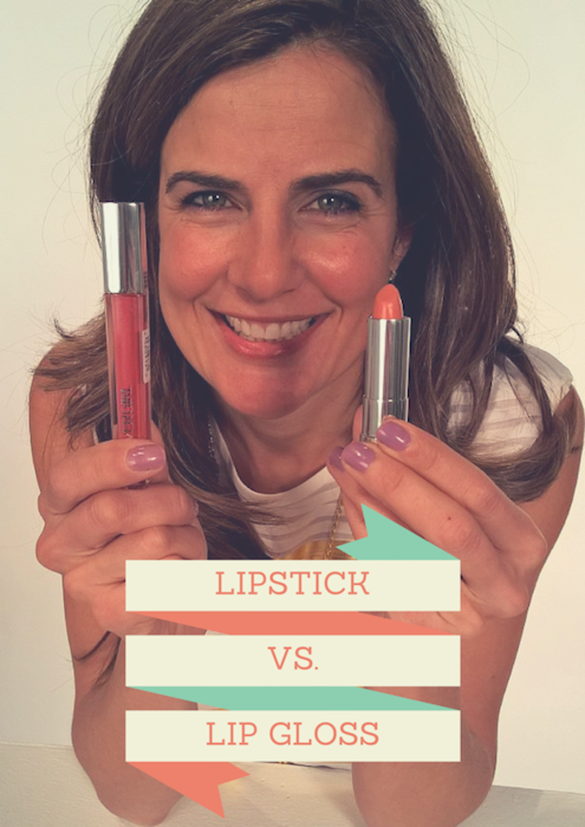 lipstick vs. lipgloss
