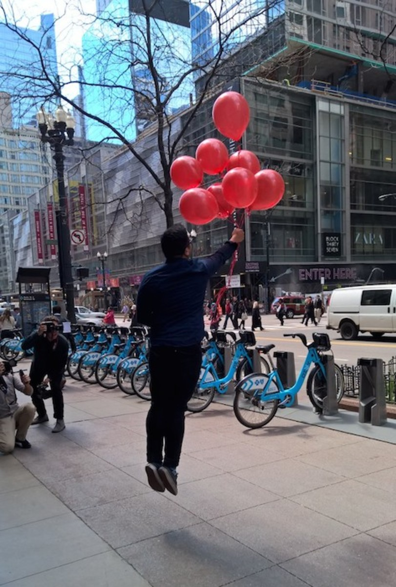 Red Nose balloons