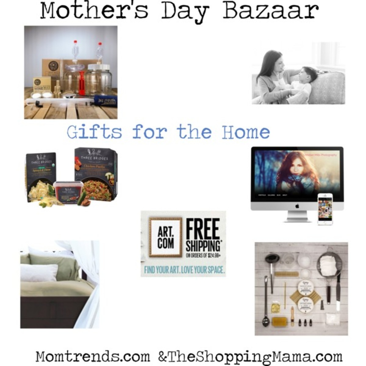 home gifts for mom