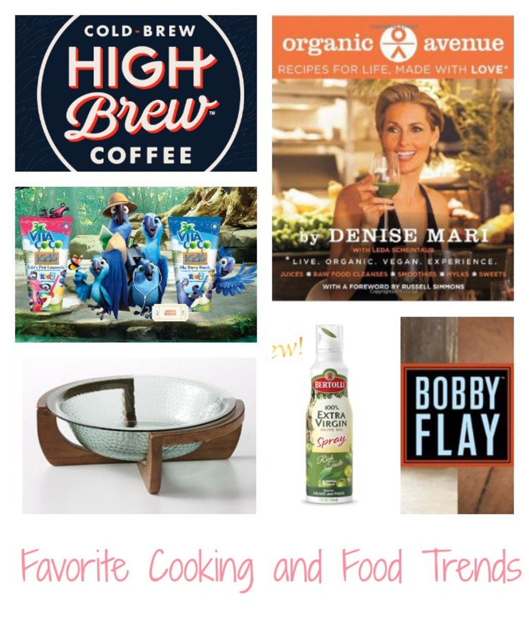 Favorite Cooking and Food Trends