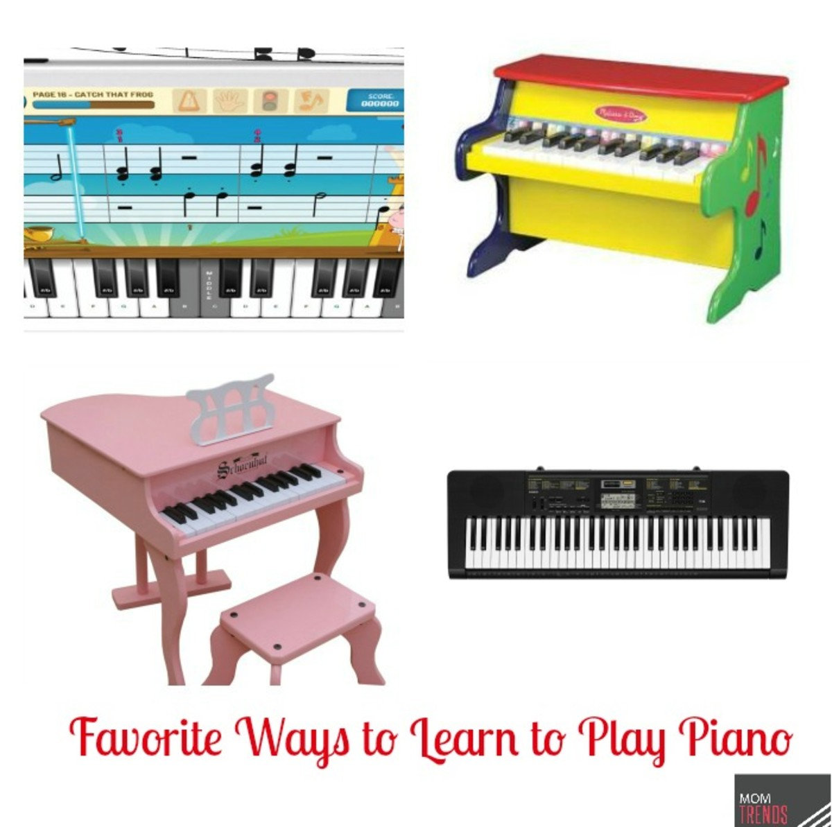 Favorite Ways to Learn to Play Piano