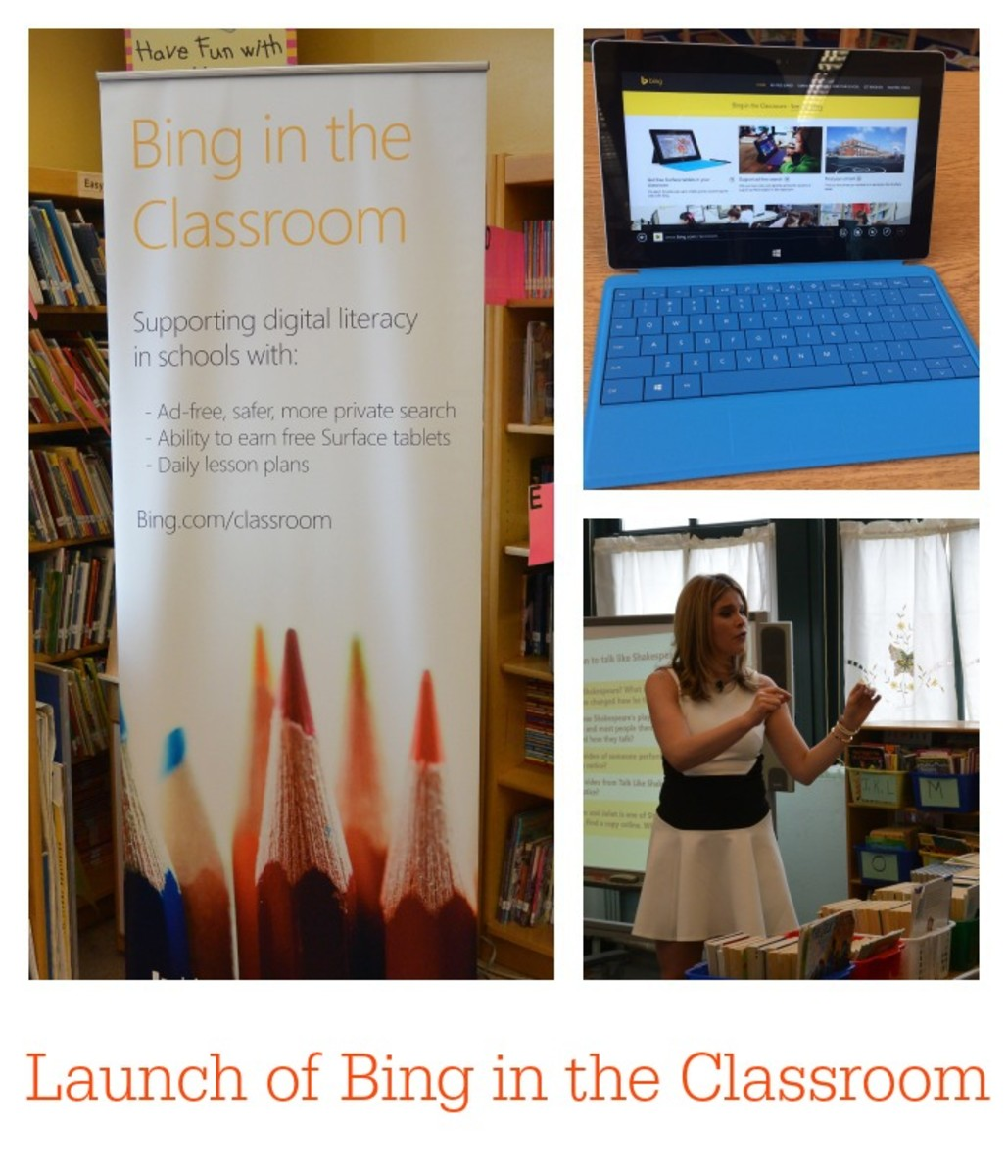Launch of Bing in the Classroom