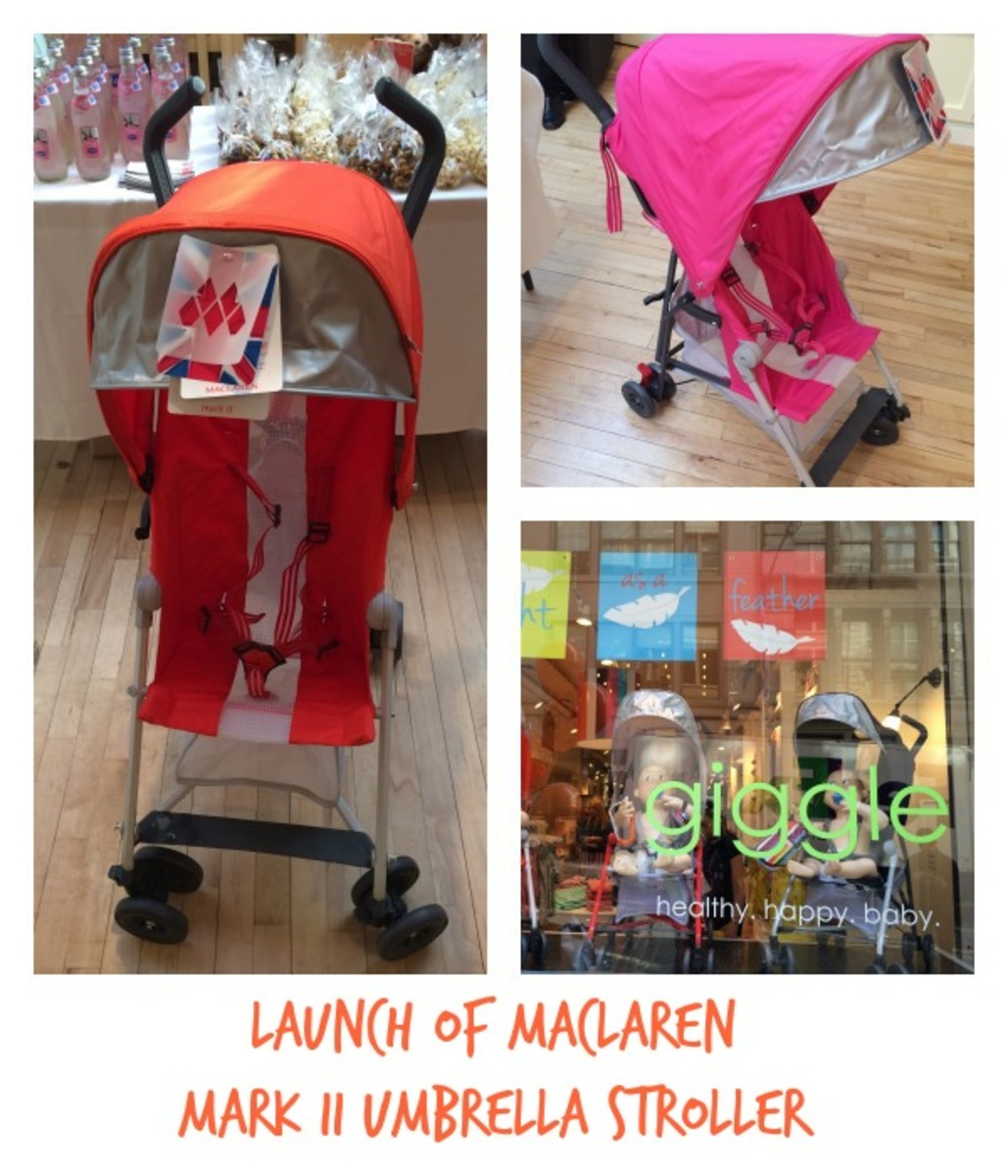 Launch of Maclaren Mark II Umbrella Stroller