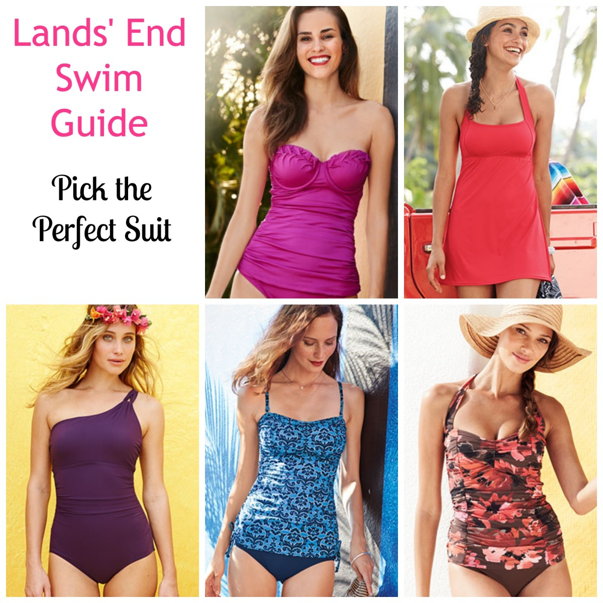 Pick the perfect Swimsuit