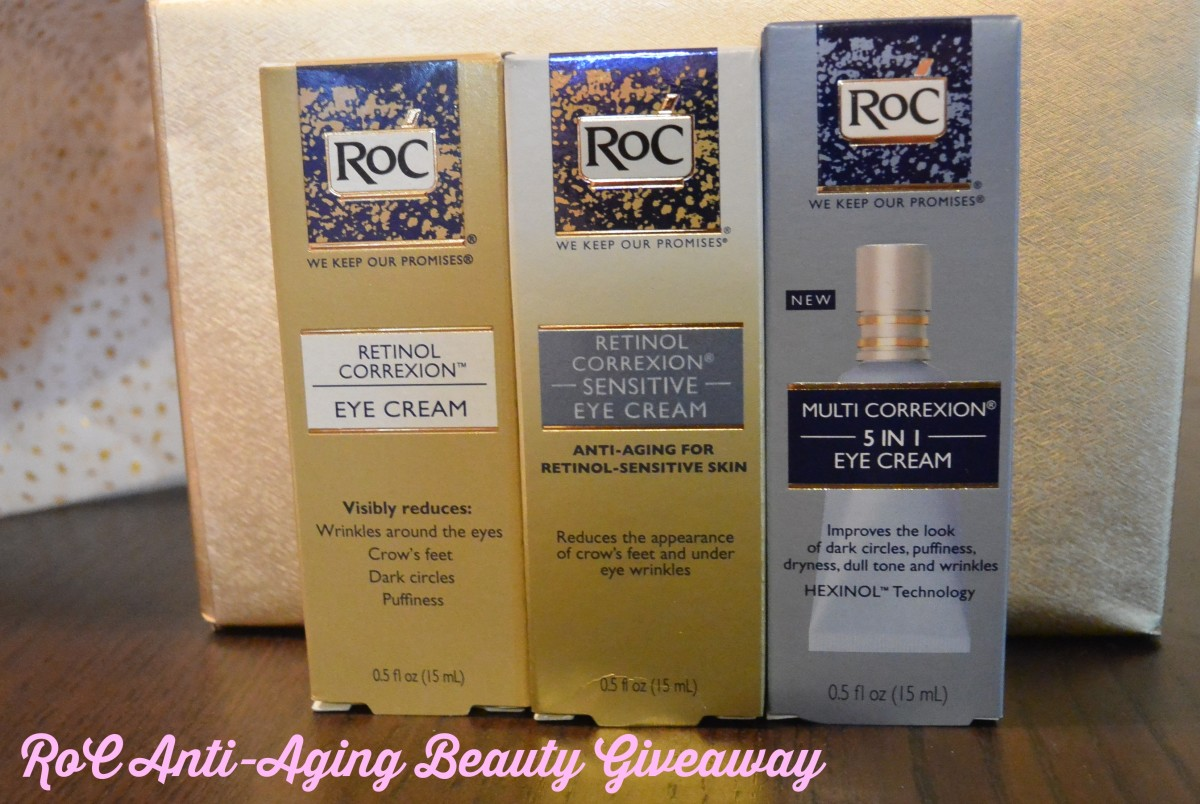 RoC Anti-Aging Beauty Giveaway