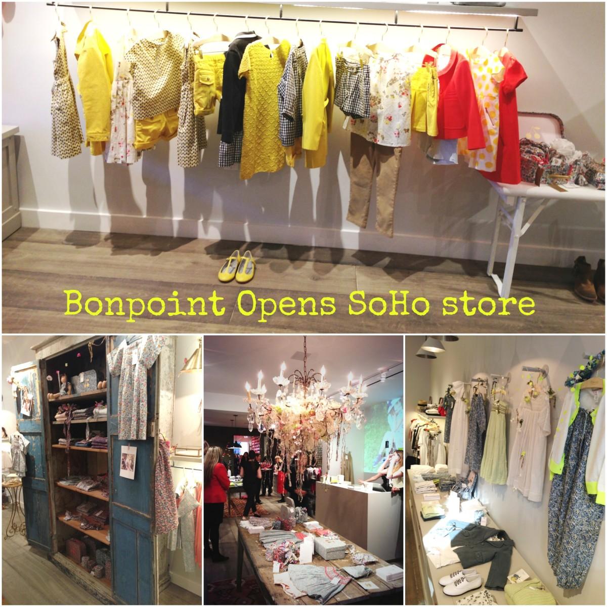 bonpoint opens soho store
