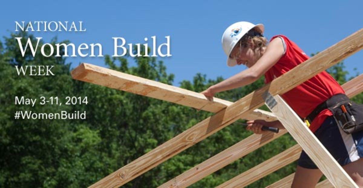 Habitat for Humanity's National Women Build Week