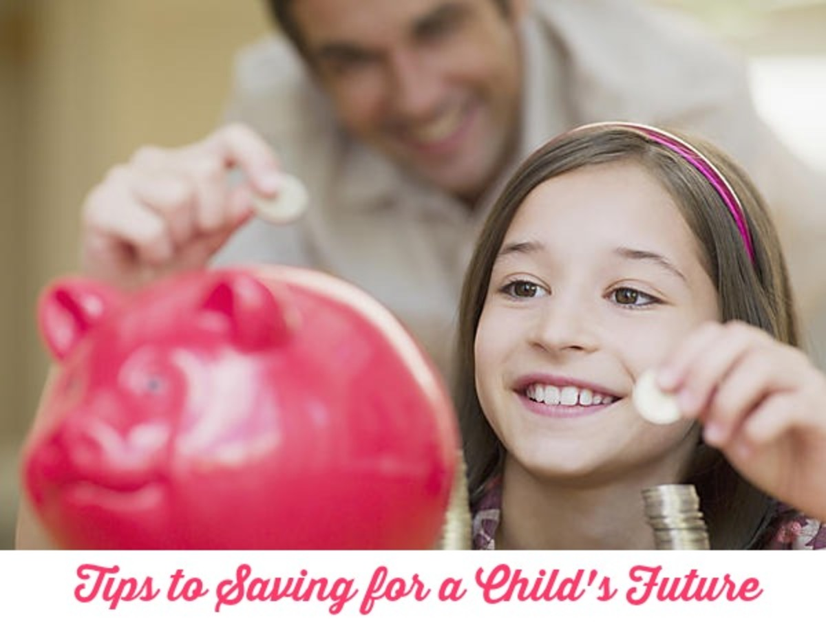 Tips to Saving for a Child's Future