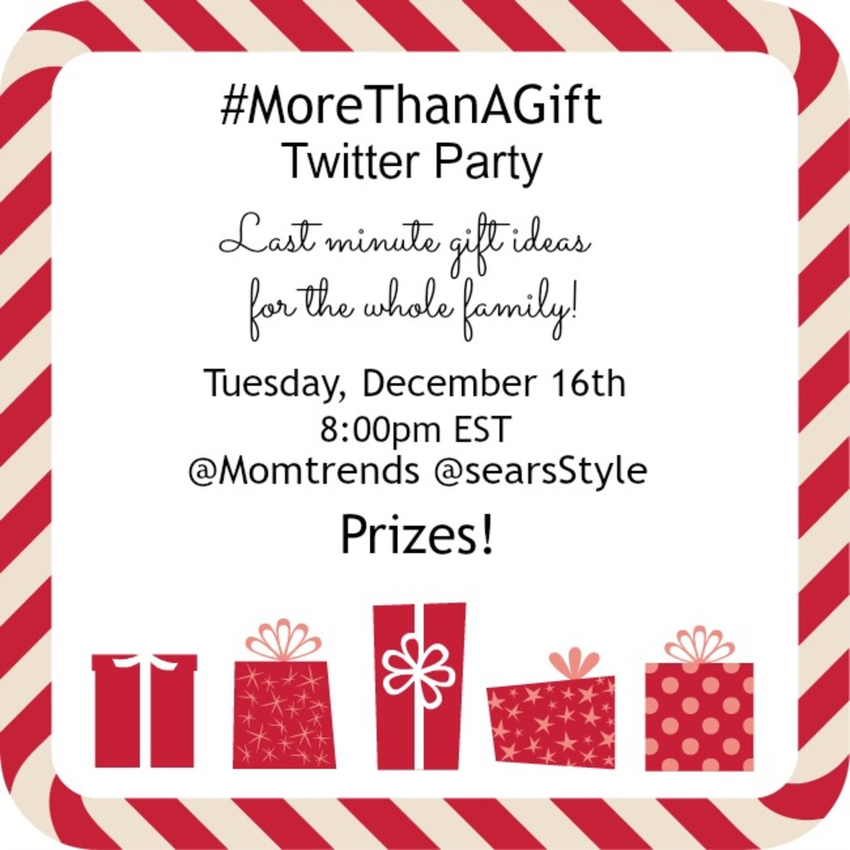 morethanagifttwitterparty