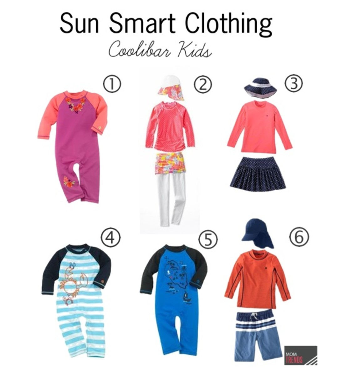 SPF swimwear for kids