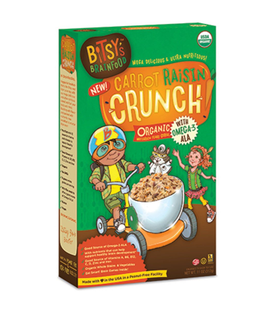 """Bitsy's Brainfood Launches New """"Smart"""" Cereal Line for Kids"""