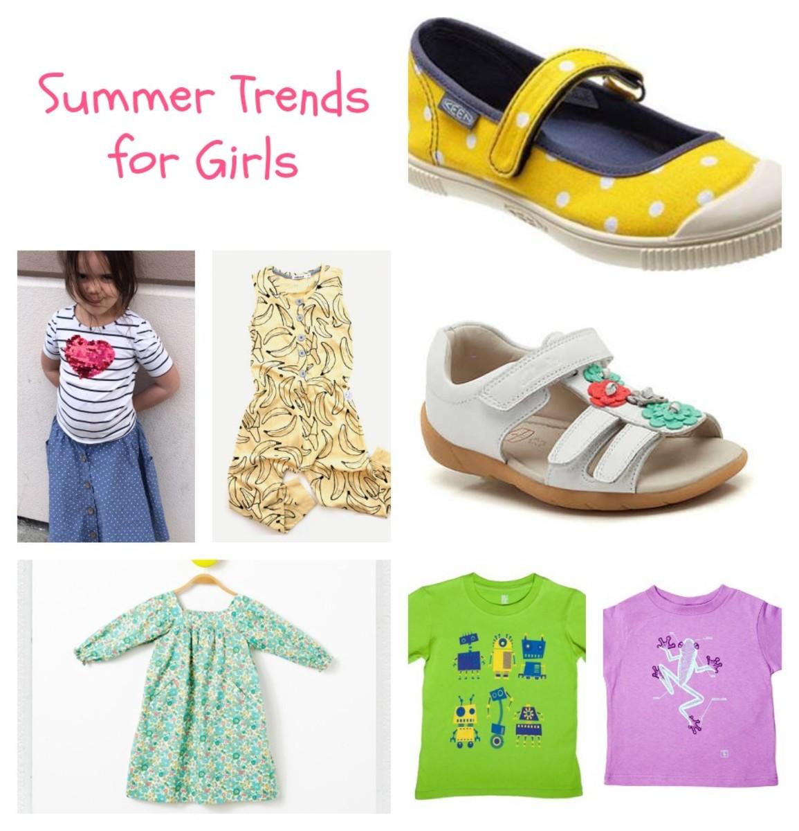 Summer Trends for Girls