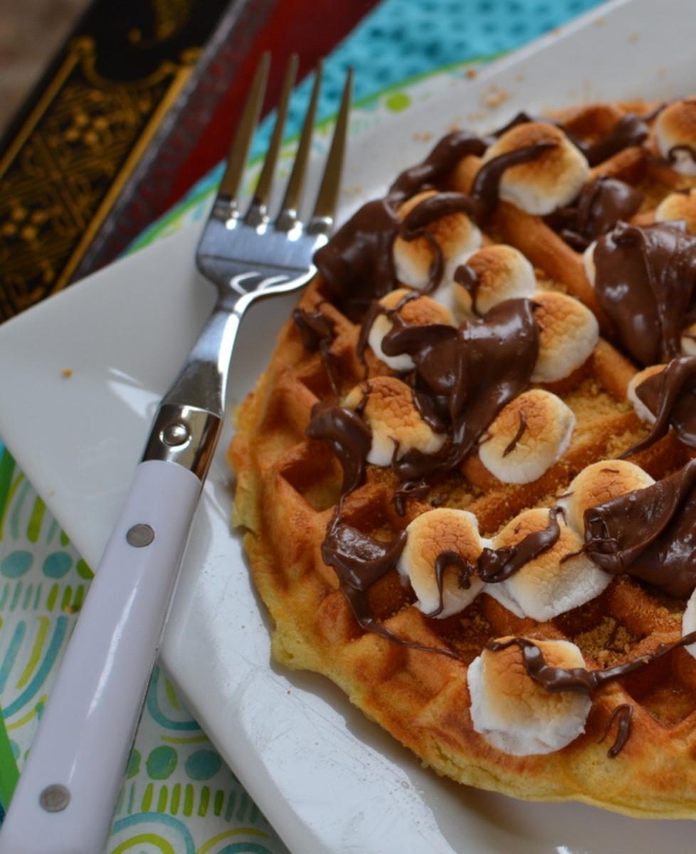 waffle smores