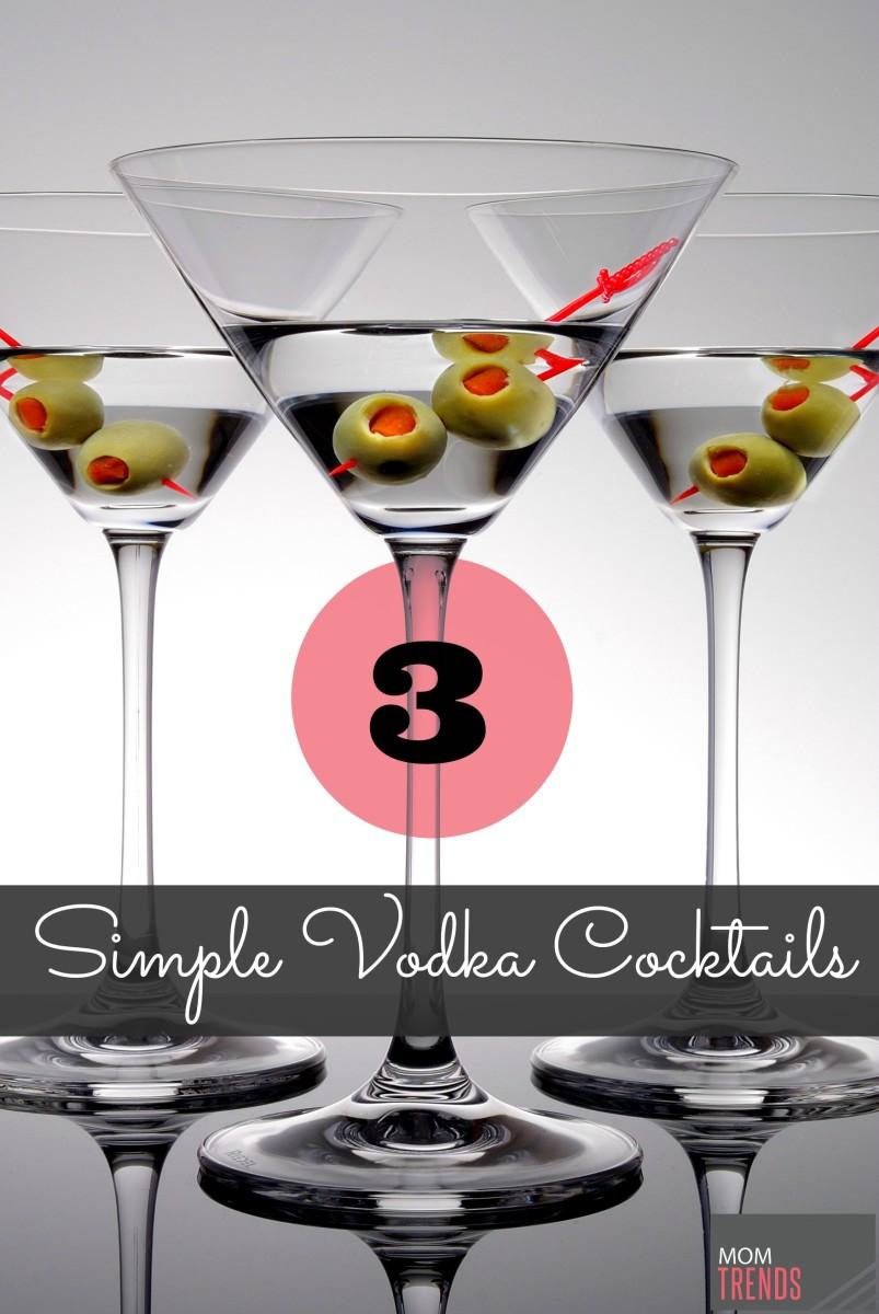 Simple Vodka Cocktails