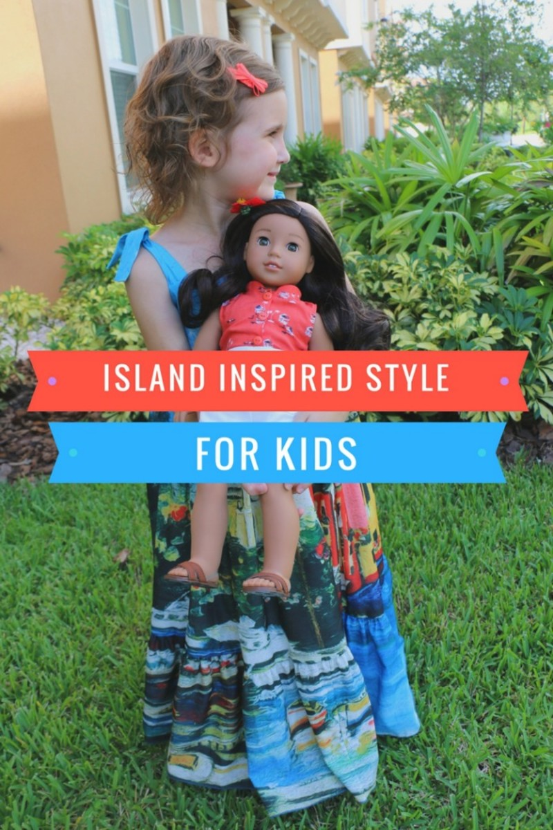 island inspired style for kids