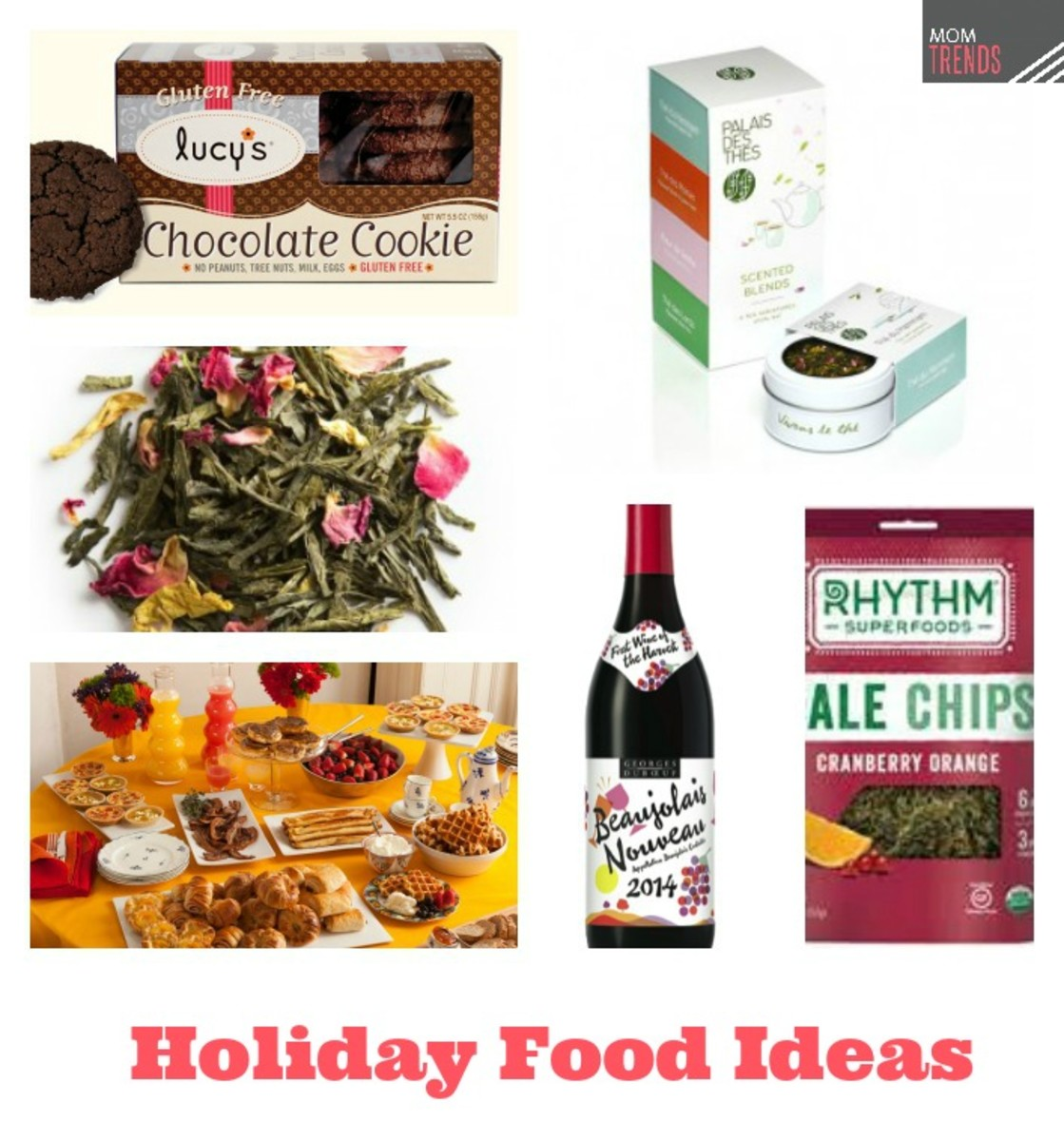 Holiday Snack, Food and Drink Ideas