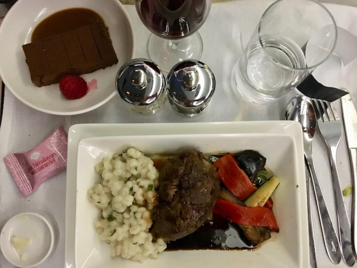 Dinner on Open Skies