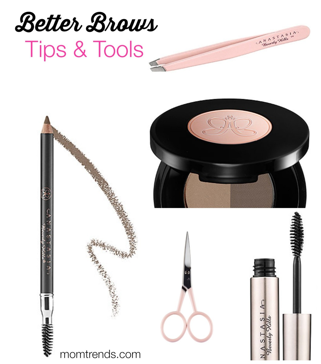 get better brows, beauty for moms, beauty tips
