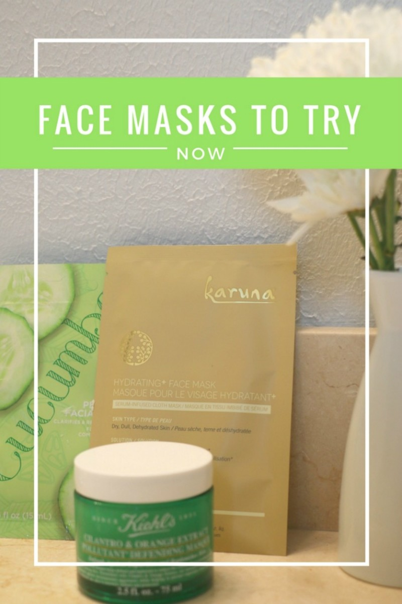 face masks to try now