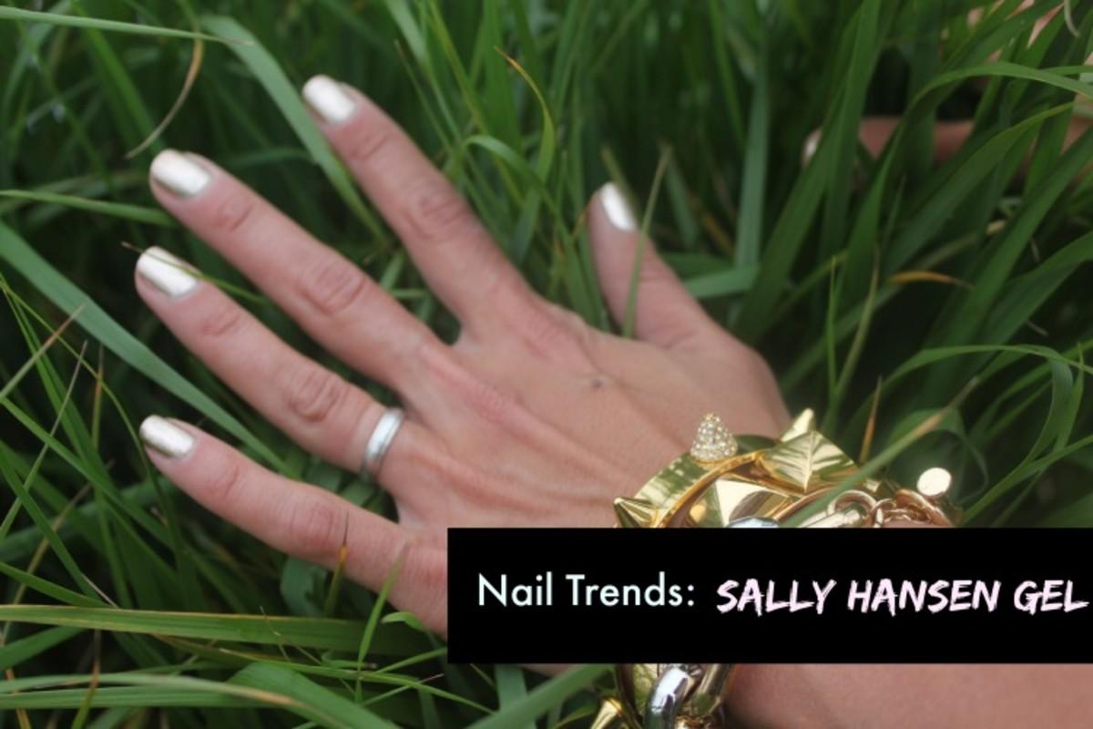 sally hansen gel manicure