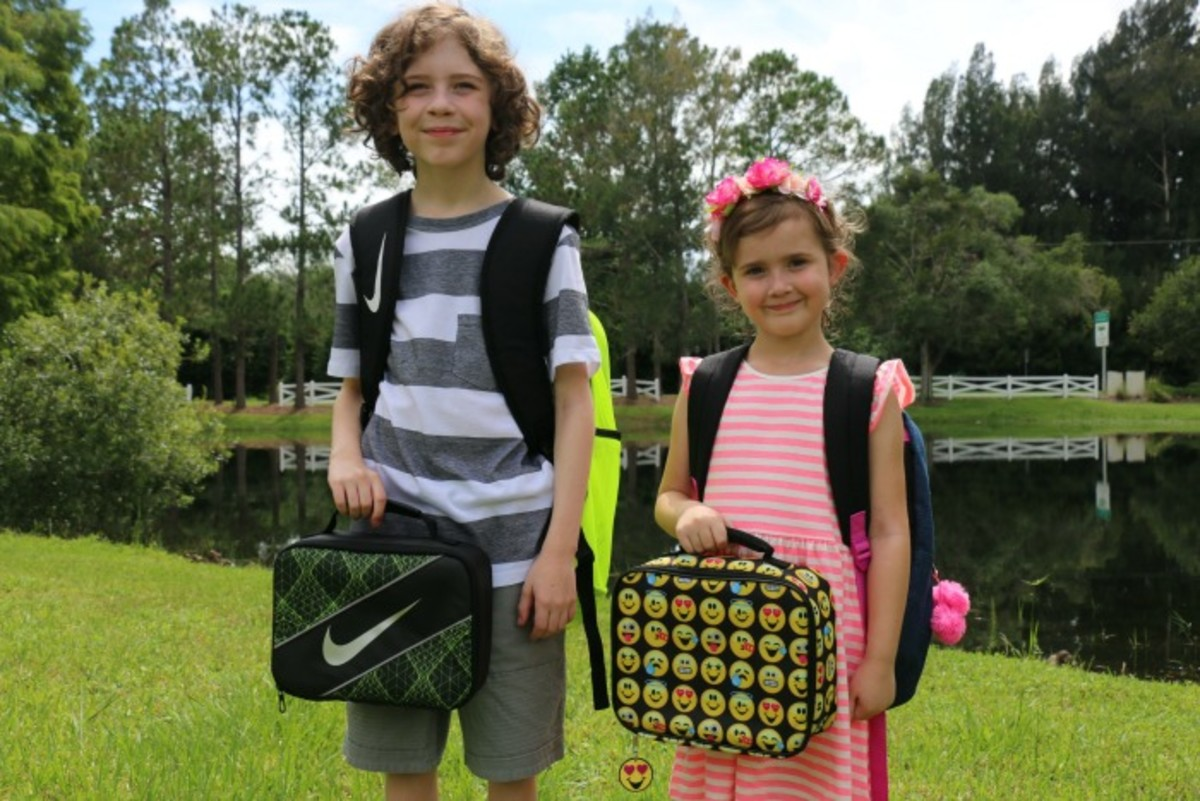 back to school sibling style
