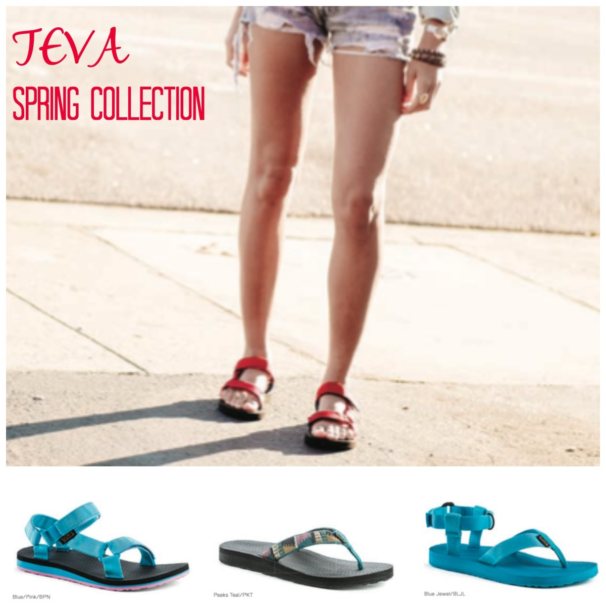 TEVA spring collection