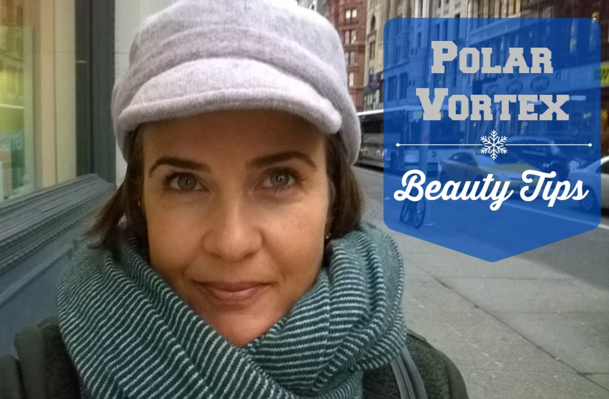 polar vortex beauty tips