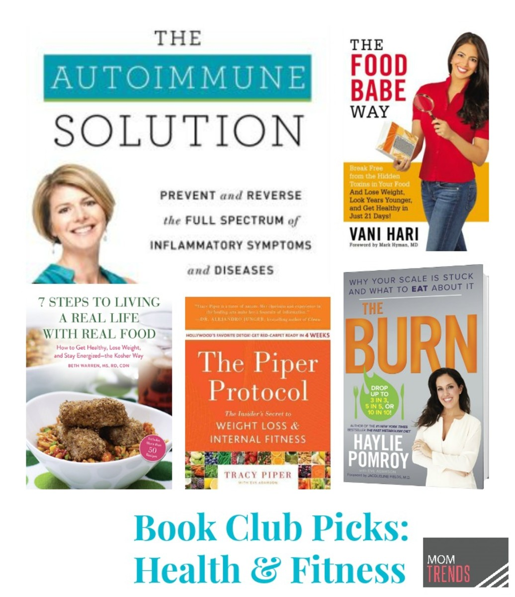Book Club Picks: Health & Fitness